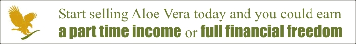 Sell Aloe Vera and earn a part time income or full financial freedom