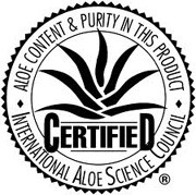 The International Aloe Science Council Seal